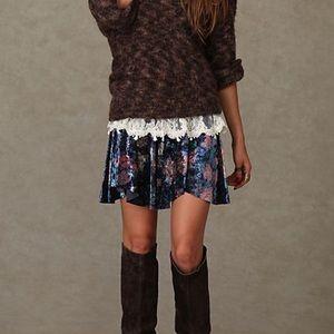 Free People | Velvet Echoes Skirt